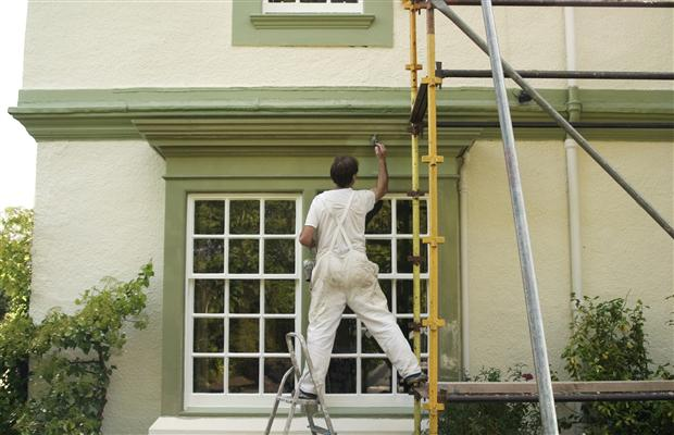 useful tips for painting your home exterior. Black Bedroom Furniture Sets. Home Design Ideas